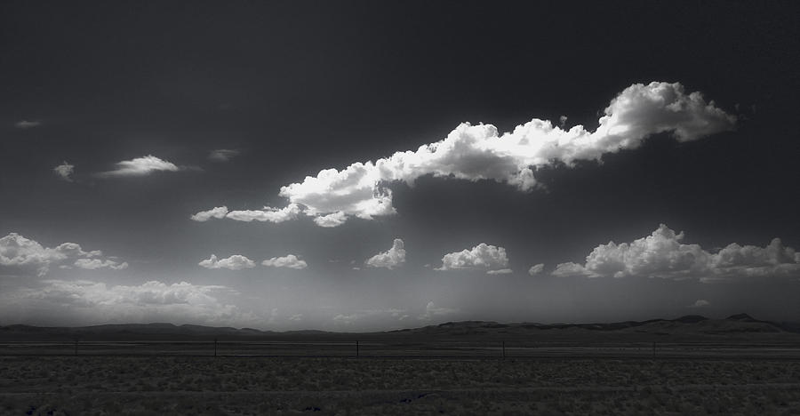 Clouds Over Fallon Nevada Photograph  - Clouds Over Fallon Nevada Fine Art Print