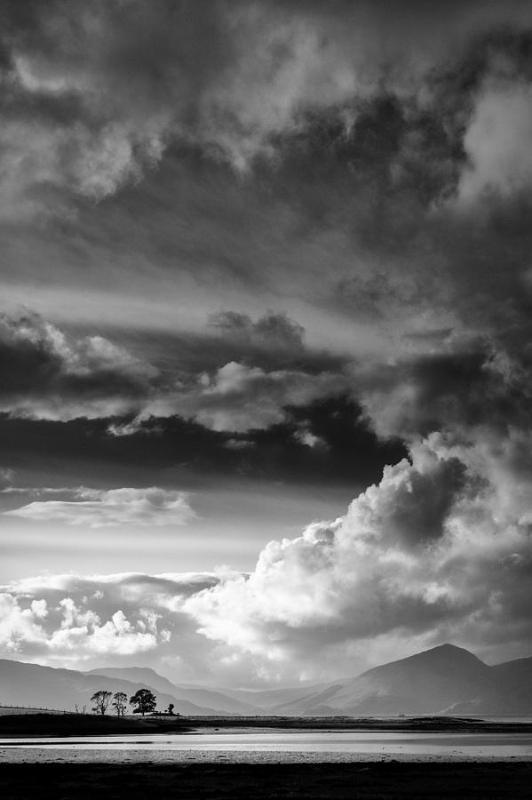Clouds Over Loch Laich Photograph  - Clouds Over Loch Laich Fine Art Print