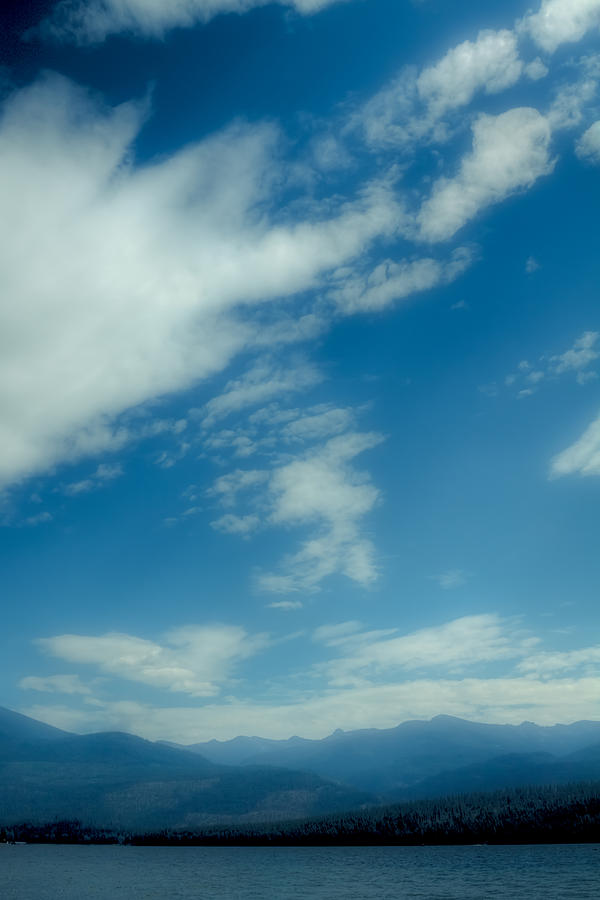 Clouds Over Priest Lake Photograph