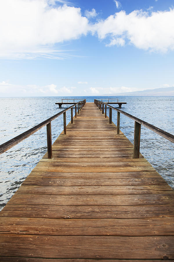 Club Lanai Dock Photograph  - Club Lanai Dock Fine Art Print
