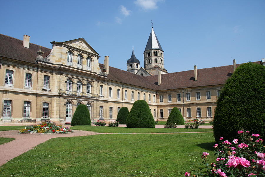 The prestigious Abbey of Cluny in Burgundy