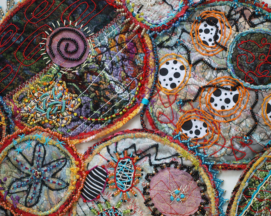 Cluster Detail Tapestry - Textile