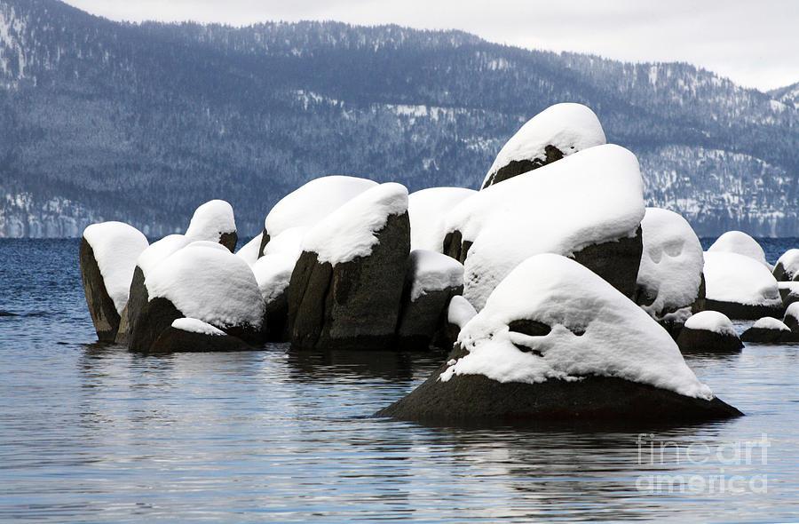 Landscape Photograph - Cluster Island by Juan Romagosa