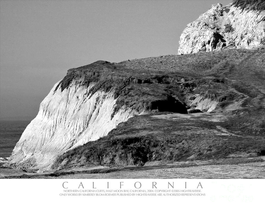 Coastal Cliffs Of Northern California Photograph
