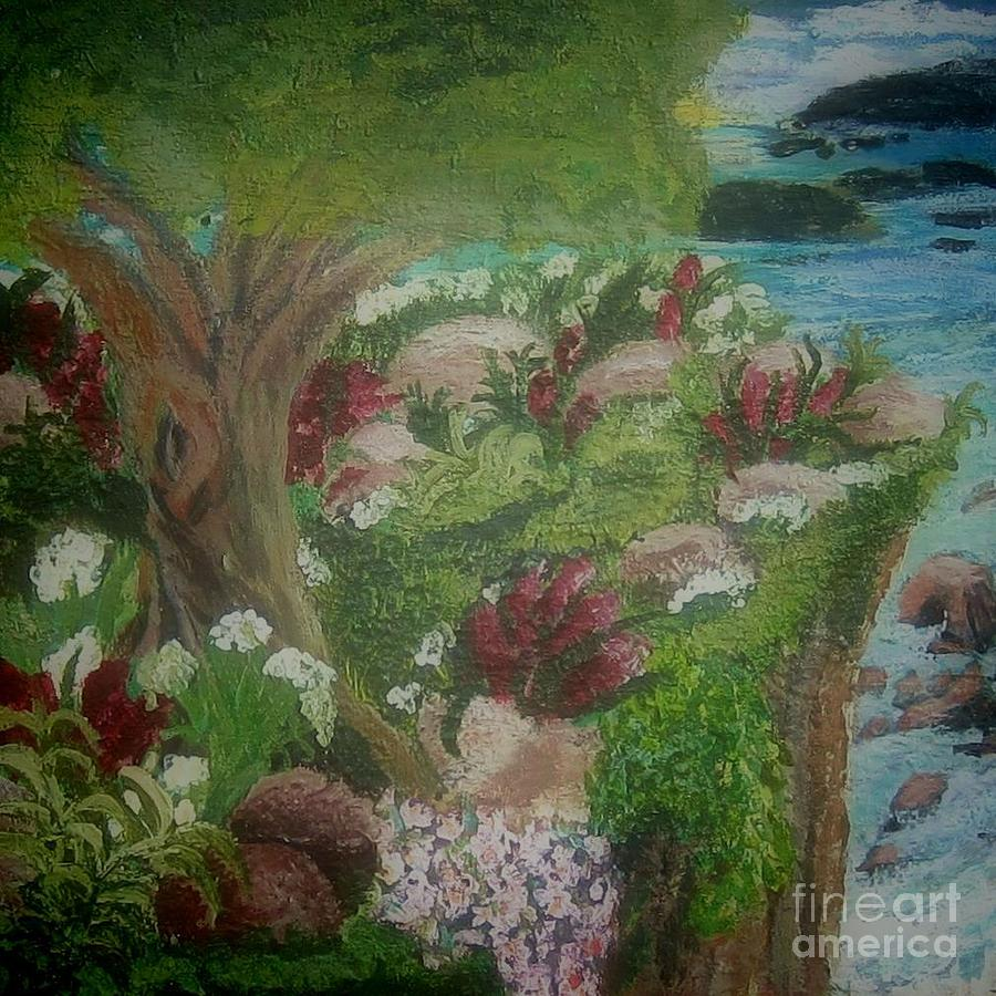 Coastal Dreams Painting  - Coastal Dreams Fine Art Print