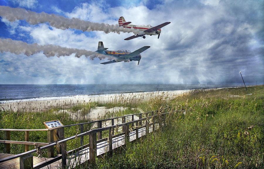Coastal Flying Photograph