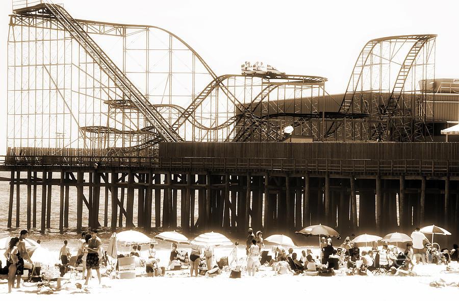 Coaster Ride Photograph - Coaster Ride by John Rizzuto