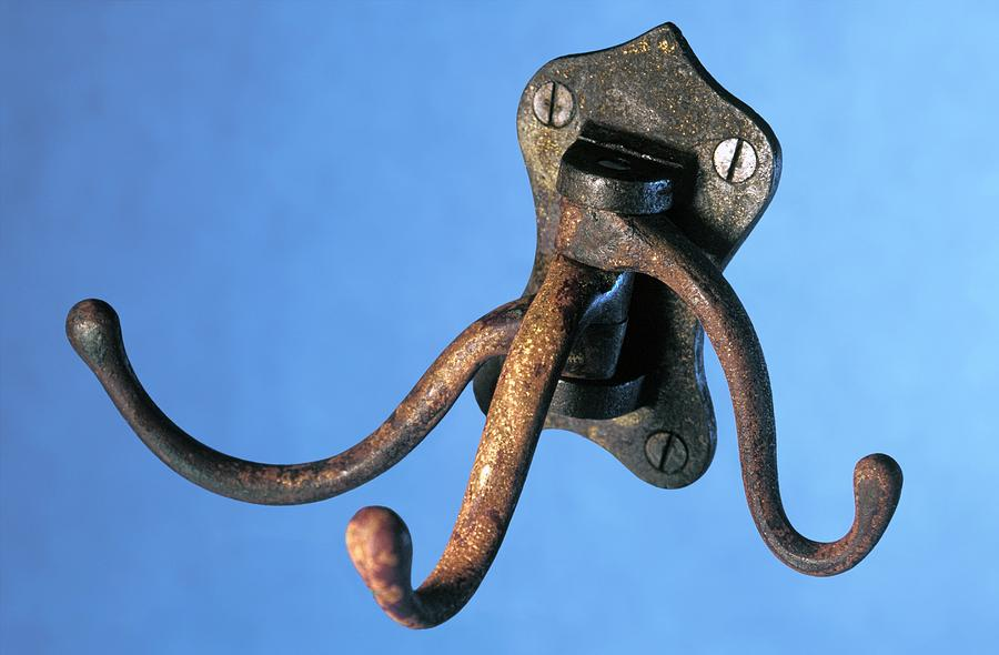 Coat Hanger From The Titanic Photograph