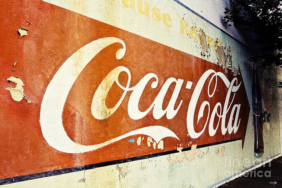 Coca Cola Sign  Photograph