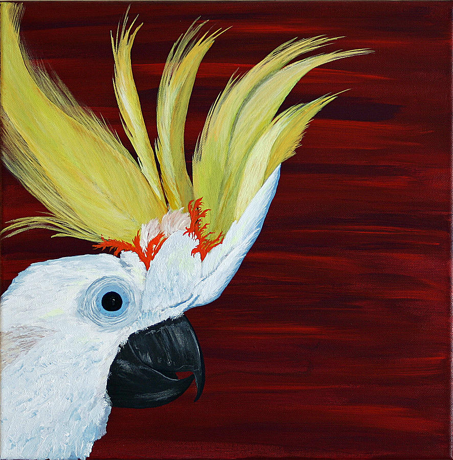 Cockatoo Painting
