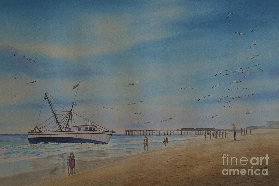 Cocoa Beach Meets Ellen Marie Painting