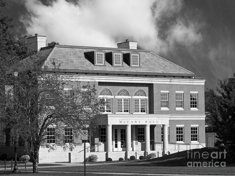 Coe College Mc Cabe Hall Photograph  - Coe College Mc Cabe Hall Fine Art Print