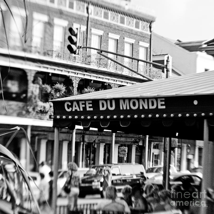 Coffee And Beignets Photograph