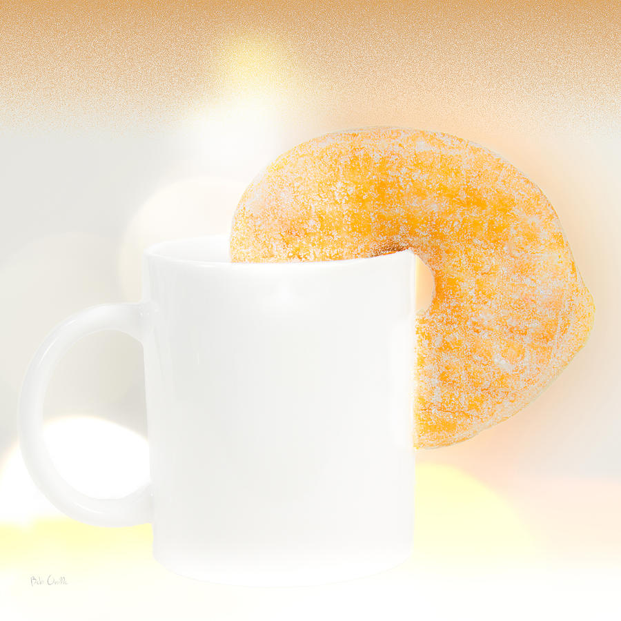 Coffee And Donuts Photograph