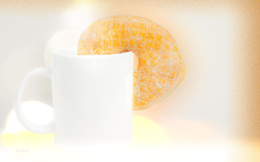 Coffee And Donuts Two Photograph  - Coffee And Donuts Two Fine Art Print