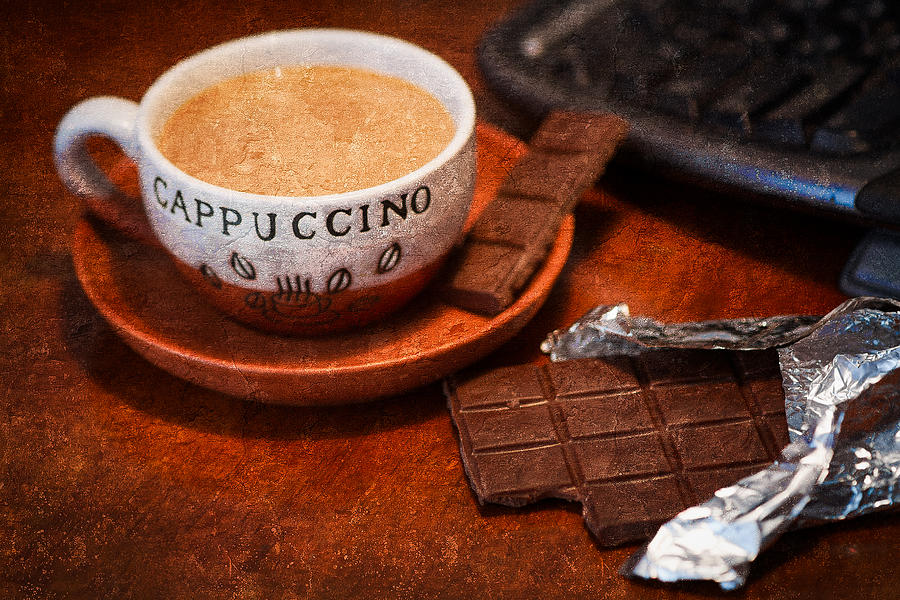 Coffee Photograph - Coffee Break by Alexander Senin