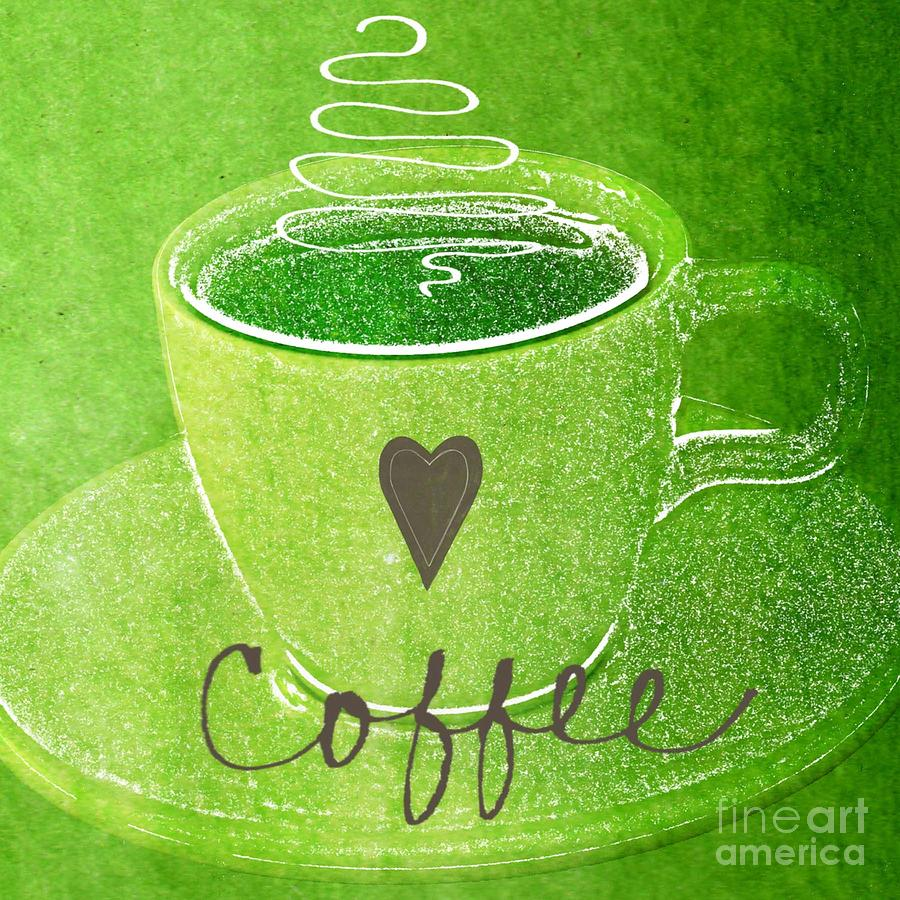 Coffee Painting  - Coffee Fine Art Print