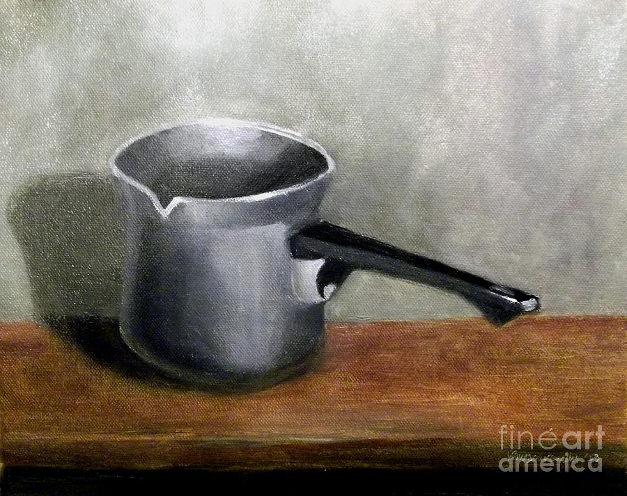 Coffee Pot Painting  - Coffee Pot Fine Art Print