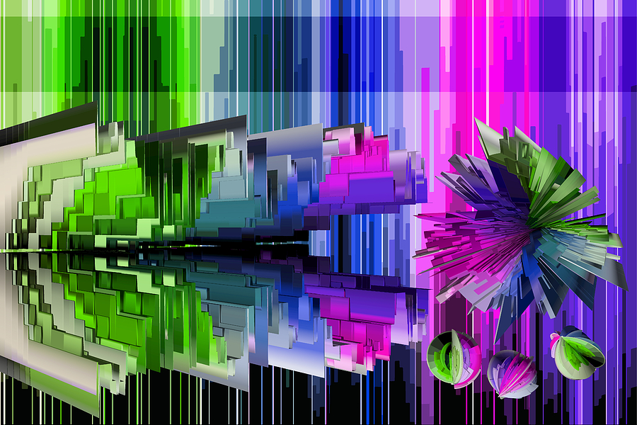 Cognitive Dissonance 2 Mixed Media