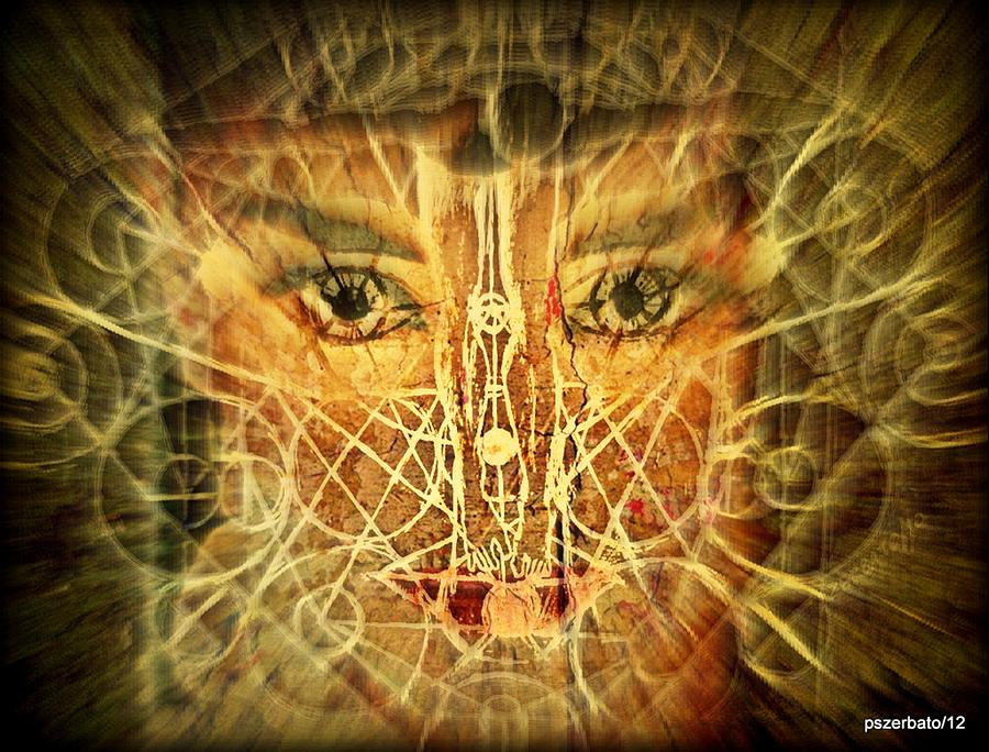 Cognitive Processes Which Emanate Of Every Being And Affect The World Around Us Digital Art