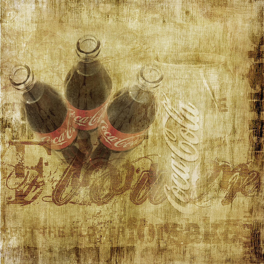 Coke Art Photograph  - Coke Art Fine Art Print