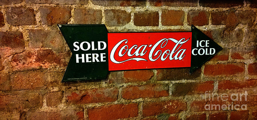 Cola Sold Here Photograph