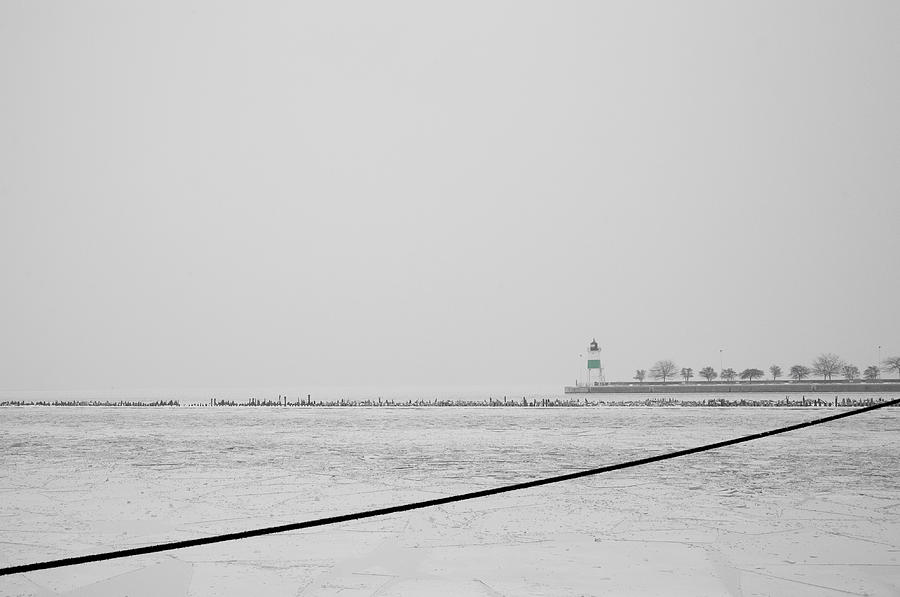 Chicago Photograph - Cold by Joanna Madloch