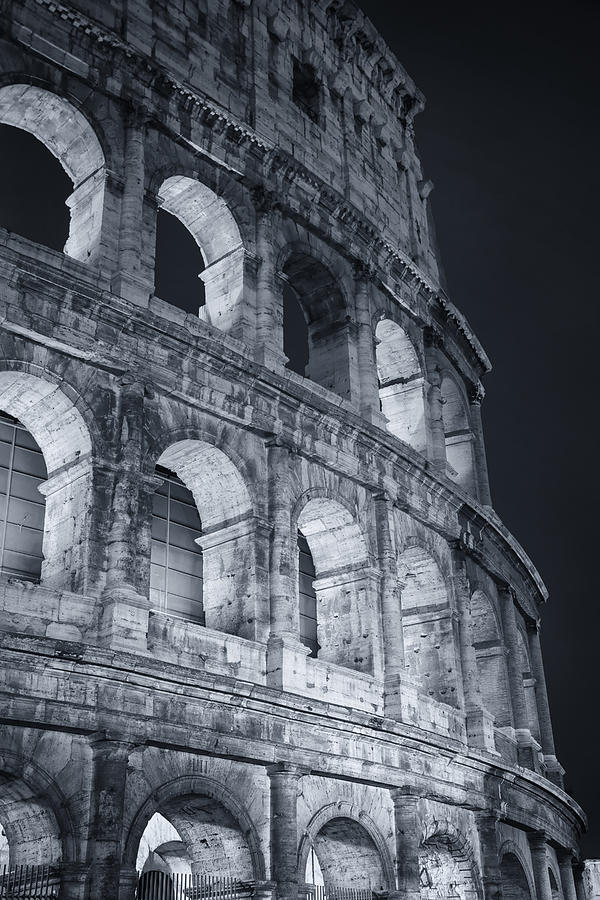 Coliseum Before Dawn Photograph