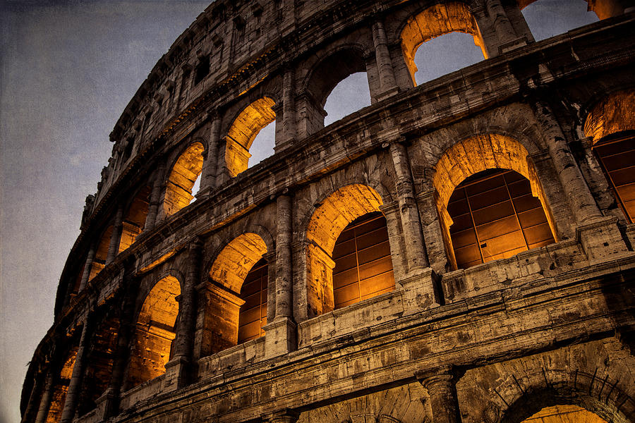 Coliseum Dawn Photograph
