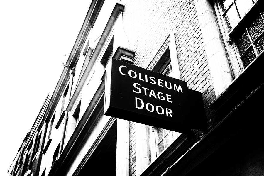 Coliseum Stage Door by Photollery - Coliseum Stage Door ...