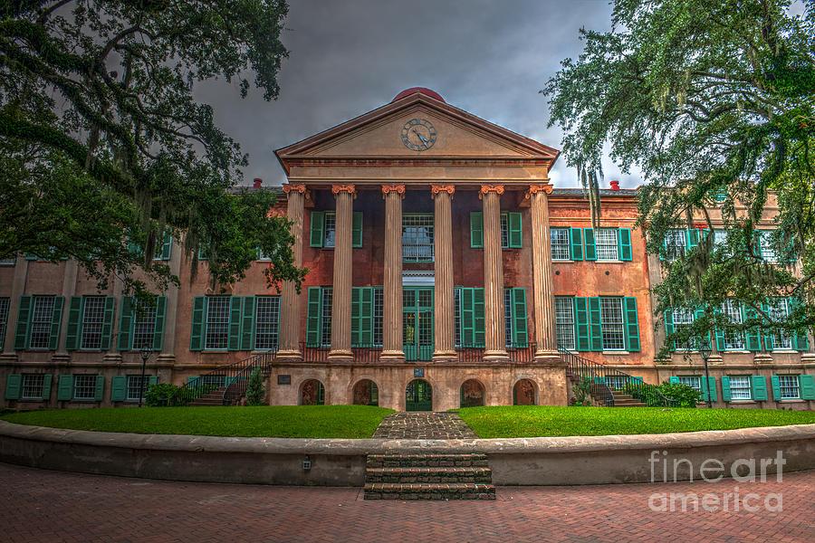 College Of Charleston Randolph Hall Photograph