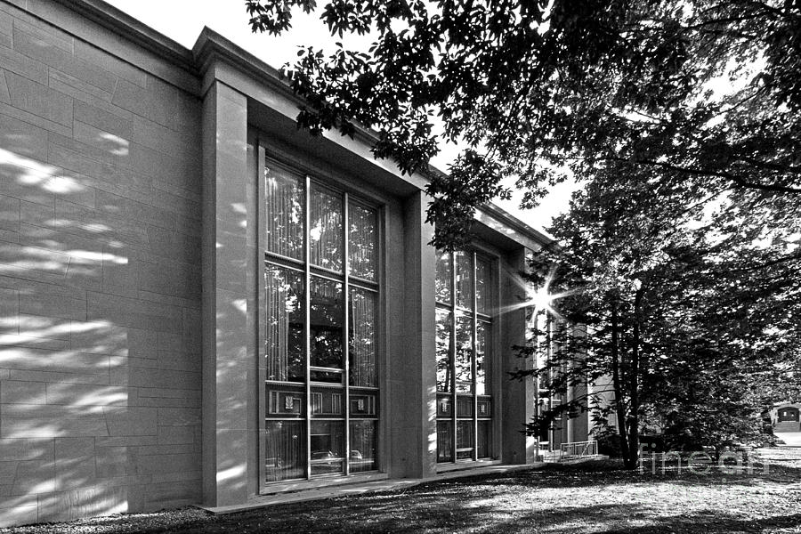 College Of Wooster Andrews Library Photograph  - College Of Wooster Andrews Library Fine Art Print