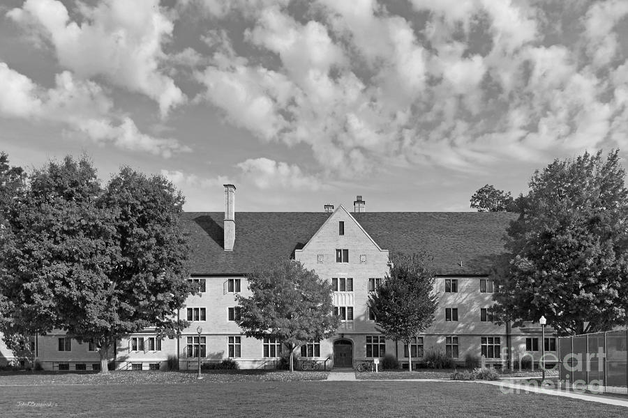 College Of Wooster Douglass Hall Photograph