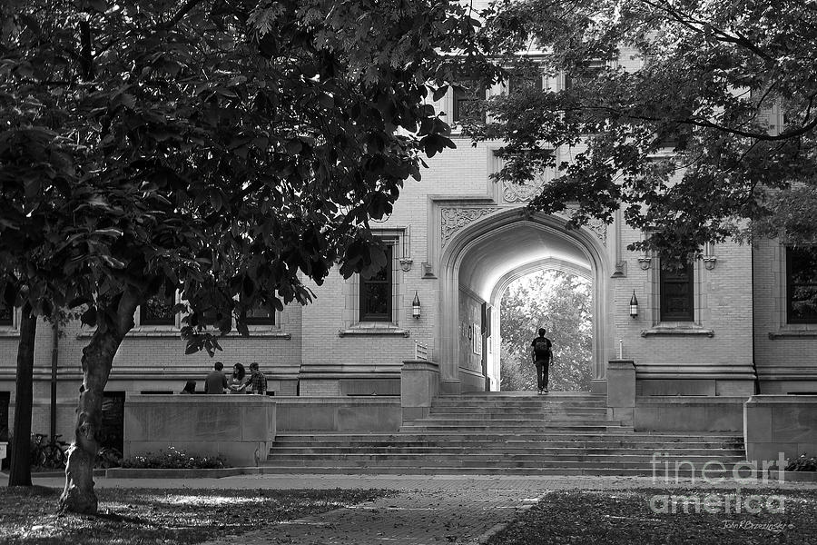 College Of Wooster Kauke Arch Photograph  - College Of Wooster Kauke Arch Fine Art Print