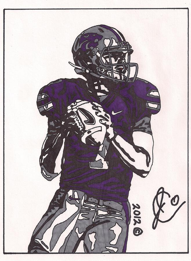 Football Player Drawin... Leopard Z Jo