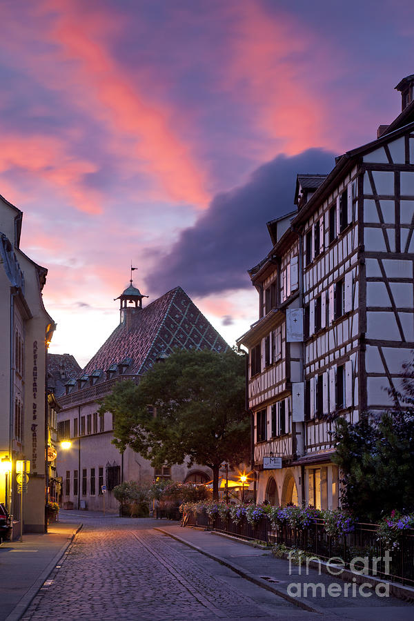 Colmar Twilight Photograph