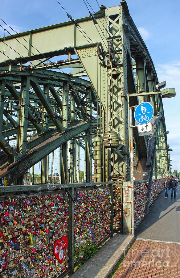 Cologne - Hohenzollern Bridge Photograph