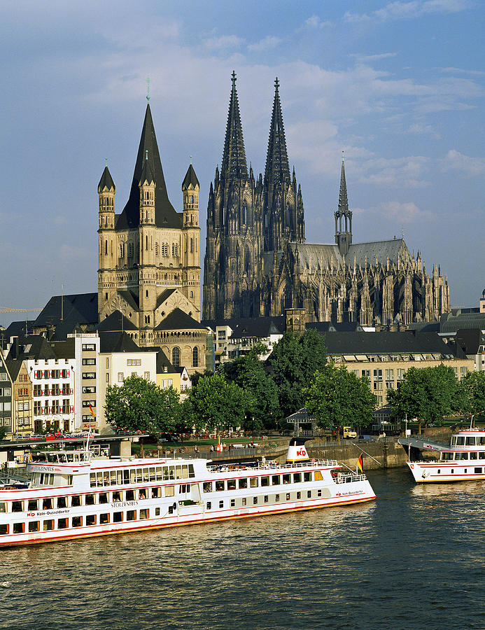 Cologne Germany  City pictures : Cologne Germany is a photograph by David Davies which was uploaded on ...