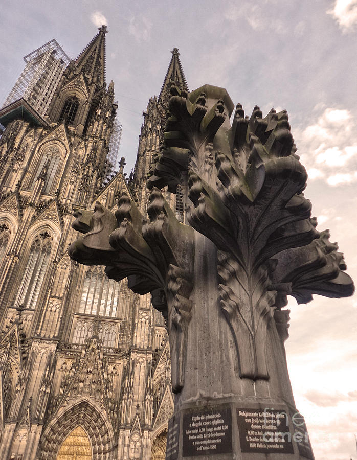 Cologne Germany - High Cathedral Of St. Peter - 08 Photograph