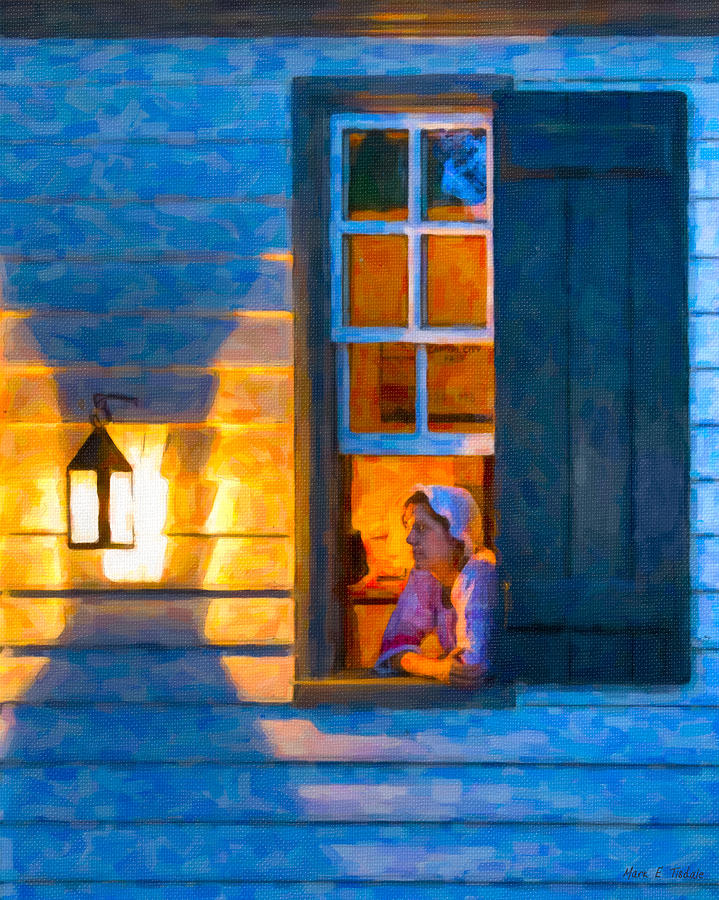 Colonial Williamsburg By Night Photograph