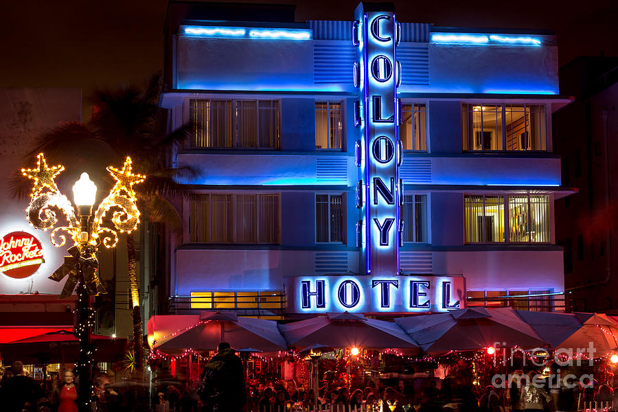 Colony Hotel Sobe Photograph  - Colony Hotel Sobe Fine Art Print