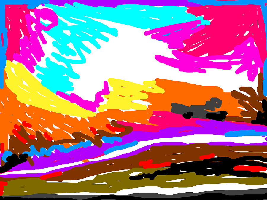 Color Abstract-6 Digital Art