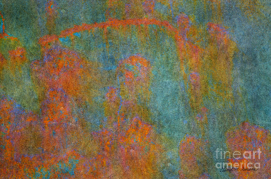 Color Abstraction Xii Photograph  - Color Abstraction Xii Fine Art Print