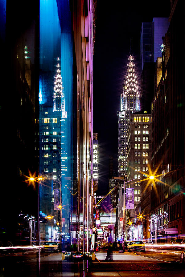Color Of Manhattan Photograph