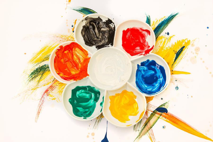 Color Palette Digital Art by Ratchapon Yanyongdecha