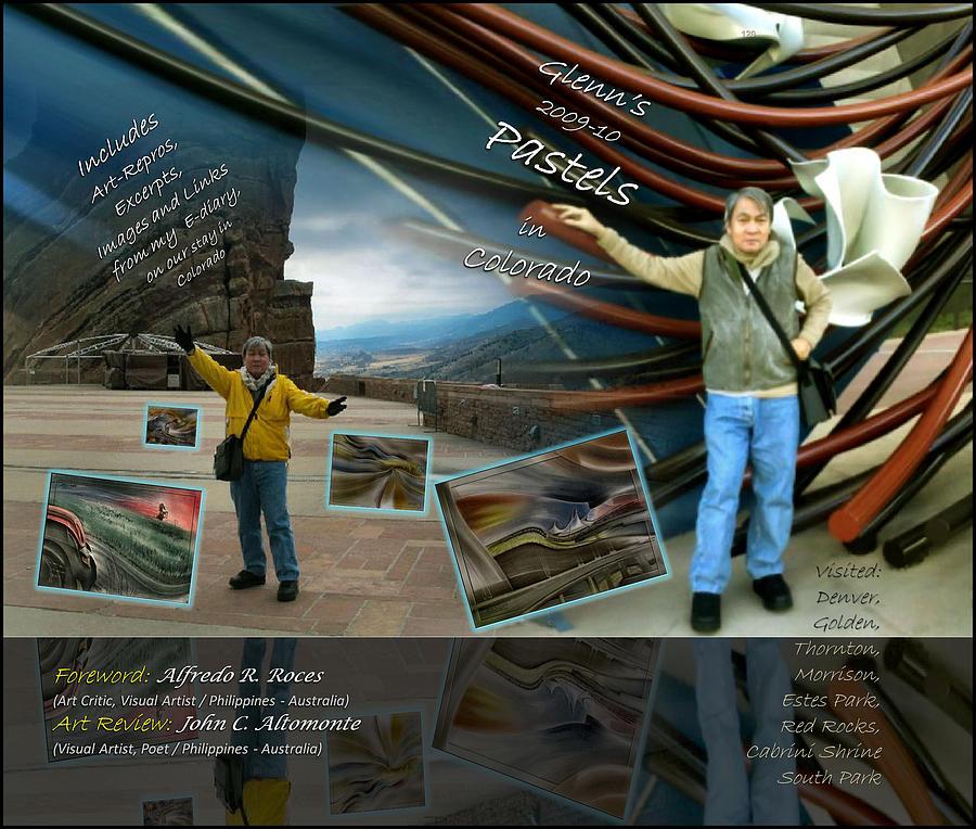 Colorado Pastel - Colorado Art Book Cover by Glenn Bautista