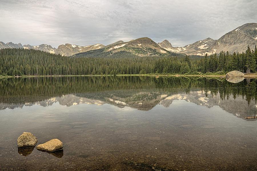 Colorado Brainard Lake Reflection Photograph