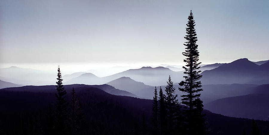 Colorado Haze Photograph