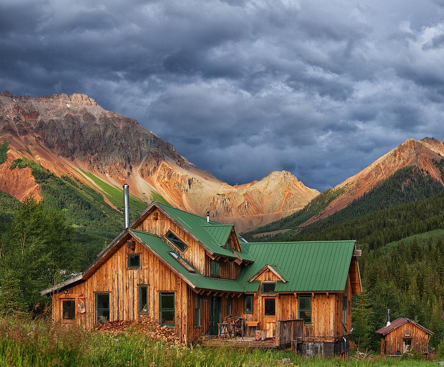 Colorado Mountain Home Photograph By Darren White