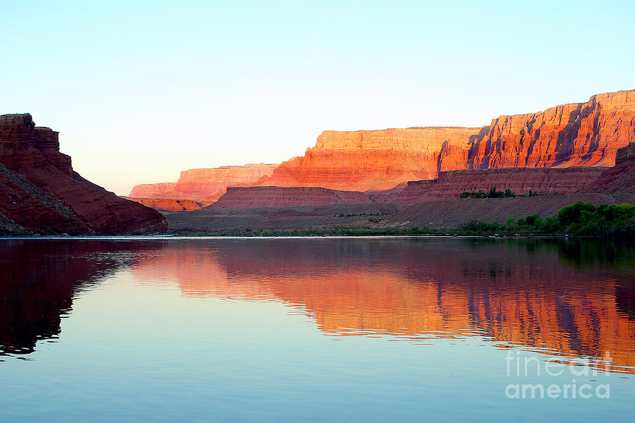 Colorado River At Dawn Photograph  - Colorado River At Dawn Fine Art Print